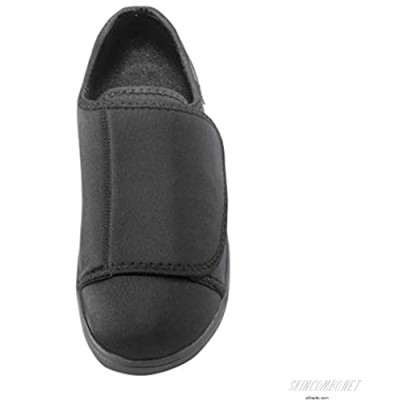 Silverts Disabled Elderly Needs Extra Wide Extra Deep Shoes for Men