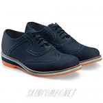 Boldini Men's Oxford Dress Shoes Lace Up Formal Leather Paolo