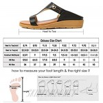 Dolusso Womens Wedge Sandals Slip on Slide Sandals Bohemian Buckle Summer Comfortable Shoes Open Toe Slipper Thong Sandals Casual Beach Shoes…