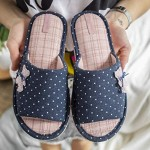 Open Toe Cute House Slippers for Women Indoor Women`s Slip-on Slide Anti Slip Light House Shoes Spa Slipper for Girls for Guests by Twins (Bear