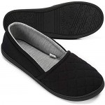 Urbancolor Women Indoor Slippers Memory Foam Lightweight Slip-On Anti-Skid Comfort Washable Home Shoes